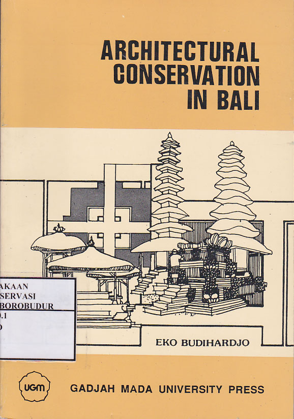 Architectural conservation in Bali